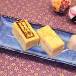 鮨 くろ澤 - 特製厚焼き玉子