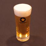 鮨 くろ澤 - 生ビール