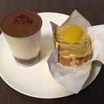 アドリア洋菓子店 - 【料理】ティラミス、和栗のモンブラン