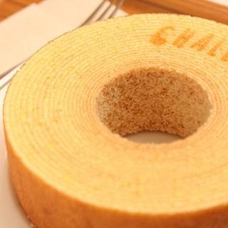 米粉を使ったバウムクーヘン