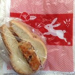 63739093 - ウサギのミミリー&兎・椿・鹿の子模様のビニール袋