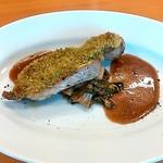 イタリア食堂 フクモト - 豚肉の香草パン粉焼き
