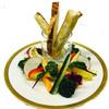 バケットスティックと厳選野菜のアンチョビ&味噌マヨディップ