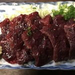 63740083 - 【2017.3.1】鯨の刺身¥800