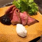 Dining TABI - 自家製和牛のローストビーフ