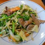 万福食堂 - レバニラ