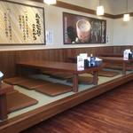 丸亀製麺 - 座敷席