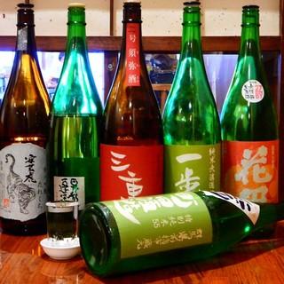 厳選された各地の日本酒
