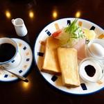 喫茶・食事 花みずき - 料理写真:モーニング(全体)