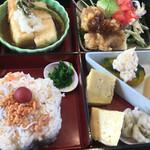 もりやま - 料理写真:重箱スタイルのお弁当ランチ