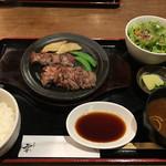 63745151 - ステーキ定食(1650円)