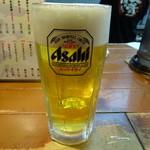 俺の夢 - 生ビール(500円)