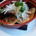 中華菜館 蘭華 - 贅沢ですね〜。私は、はまぐり好きです。 味も良かったけど、はまぐりは今ひとつでした。