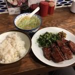 63749652 - 牛タン定食(ちょっと多め)