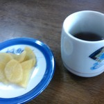 63751787 - 漬物とお茶
