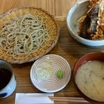 横濱蕎麦 傳介 - ランチ 小天丼とせいろ蕎麦