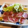 三馬力+1/2 - 料理写真:ランチは「クッパランチ」(1,000円)のみ。サラダ、ローストビーフ、クッパ、デザート、ドリンクという内容。