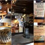 63754069 - 座敷席/鍋にはスリットと北海道マーク/店舗内観/マトンとラムの違い&美味しい食べ方