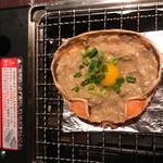 小樽食堂 - 蟹の甲羅焼き