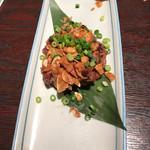 小樽食堂 - ニンニクビフテキ