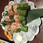 小樽食堂 - 肉巻きオクラ
