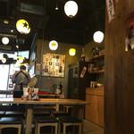 とり家ゑび寿 - 店内の様子