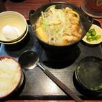 63755528 - 鶏すき鍋定食 680円