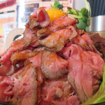 レッドロック - お肉自体は、塩コショウの下味はつけてあるものの超あっさりです。