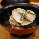 日本料理里乃や - 千葉産ハマグリ