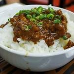 南雲 - 塩タンメン肉味噌丼セット