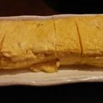 暖座 - 料理写真:出汁巻玉子。
