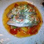 6376136 - メインの魚はアンチョビソースが美味☆