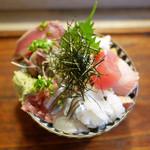 江戸富士 - 海鮮どん ¥1,000