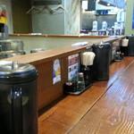 麺処 井の庄 - カウンター