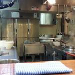 麺処 井の庄 - 厨房
