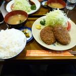 三福亭 - 先輩オーダーのメンチカツ