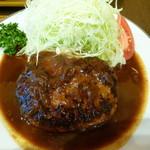 三福亭 - ふっくらハンバーグ