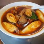 麺や 河野 - ネギラーメン 1/5 930円