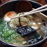ごっつおらーめん 倉吉本店 - ラーメンの麺