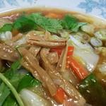 五香菜館 - メンマは味はっきり系