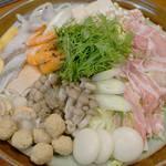 四季彩料理ふるさと - 料理写真:よせ鍋のコース。