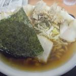 麺屋酒田inほなみ - 700円のチャーシュー麺