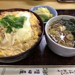 増田屋 - 料理写真:ロースカツ丼 そば付 1,150円