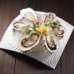 生牡蠣食べ比べ6種盛