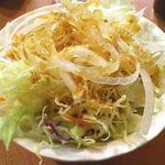 酒蔵 季 - サラダお替り