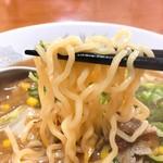63775951 - 味噌ラーメン麺リフト