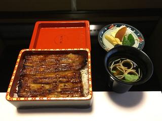 中川楼 - 蒲焼定食(3500円)