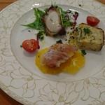 ペッシェ・アズーロ - 前菜3種