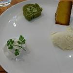 ペッシェ・アズーロ - デザート3種盛り