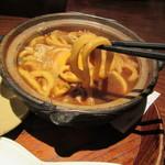 玉丁本店 - 味噌煮込みうどん うどんリフト